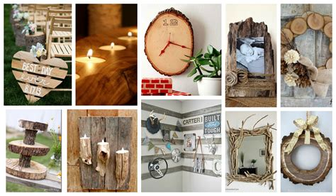 stupendous diy rustic wood decor      wow