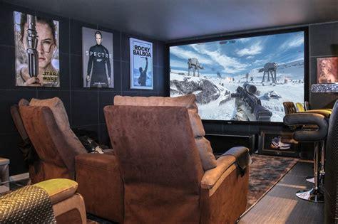 garage conversion cinema bar rayleigh  fi sound