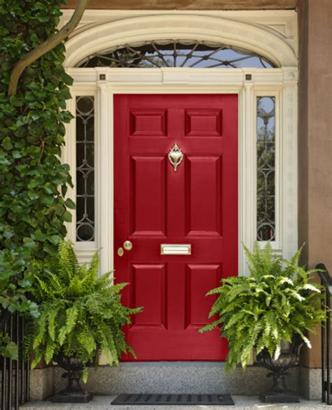 red front door 8 fabulous colors for front doors for a stand out entry