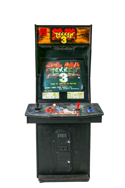 Tekken 3 Arcade Cabinet arcade rentals for events