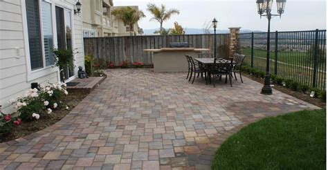 Patio Pavers On Clearance Patio Concrete Patio Pavers Home Interior Design