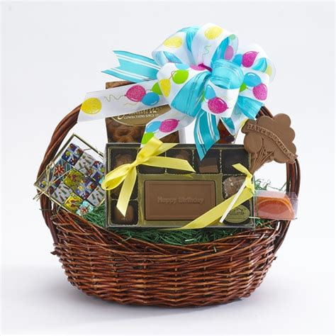 happy birthday gift baskets gift towers and baskets happy birthday basket