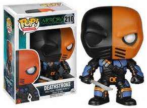 Funko Pop Arrow Deathstroke Unmasked funko pop arrow figures list images checklist exclusives more