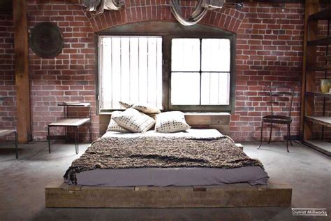 urban bedroom ideas rustic urban industrial bedroom design 1 panda s house