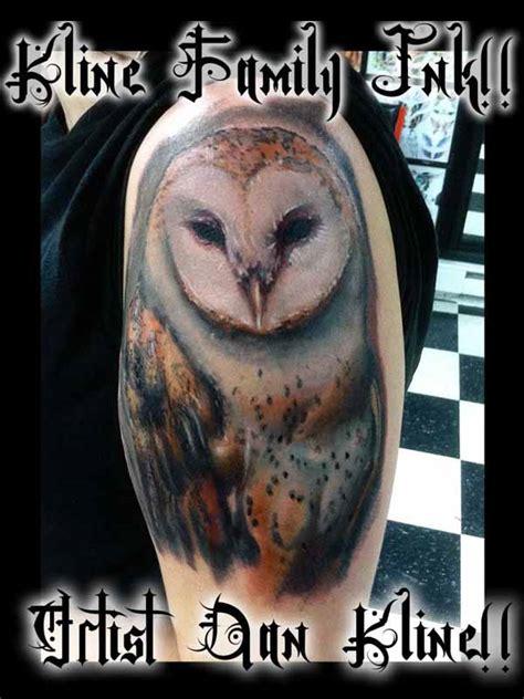 owl tattoo portrait kline family ink gallery kline family ink