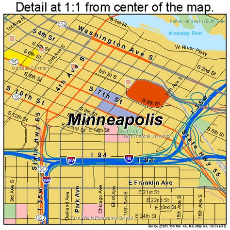 maps minneapolis minneapolis minnesota map afputra