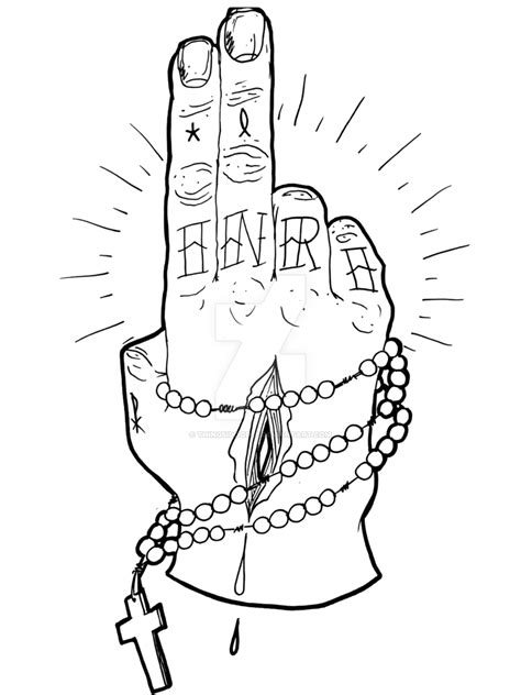tattoo for hand png tattoo d zombie jesus hand by thingsidoodle on deviantart