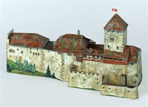 Papercraft Model Free - new paper craft hohenklingen castle free building paper