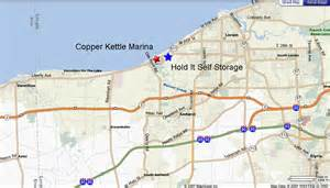 Ohio Turnpike Map by Location