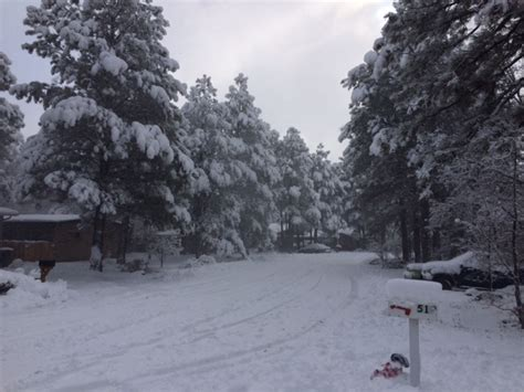 flagstaff snowfall northern arizona breaks daily snowfall record kjzz