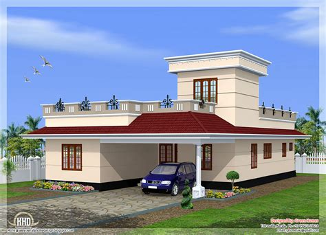 home design upload photo kerala model single floor house plans