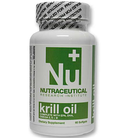 Suplemen Neutracetical Nutraceutical Research Institute Krill 500 Mg 60
