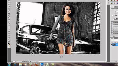 imagenes blanco y negro photoshop como poner una imagen blanco y negro tutorial photoshop