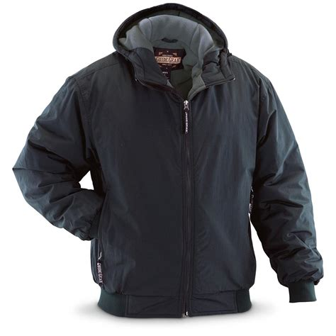 Hooded Jacket guide gear s hooded cascade jacket 180416 insulated