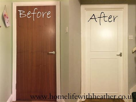 How To Add Panels and Paint Hollow Core Internal Doors   New DIY for around the house
