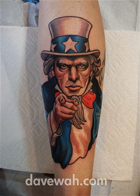 uncle sam tattoo stay humble company an upscale