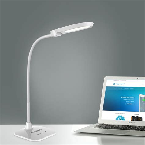 desk l led usb tecknet led06 10w eyecare led desk l with built in battery