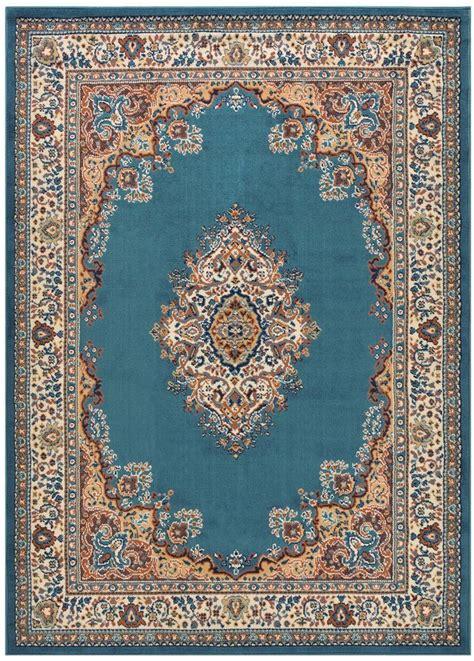 teppich 2x3 madallion blue traditional area rugs carpet 2x3
