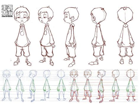 xiaobao turnaround by wardyworks on deviantart chars