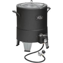 the big less fryer less infrared turkey fryer big easy pot by char broil