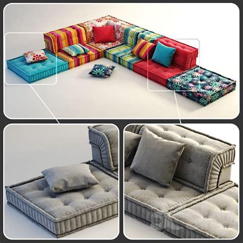mahjong sofa 3d models sofa roche bobois mah jong