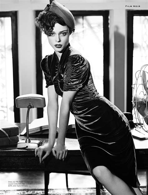 coco noir film la fashion magazine night at the ballroom under the