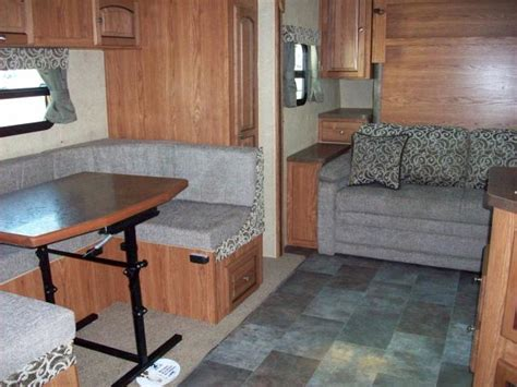 travel trailer with murphy bed flagstaff micro lite 25bhs rear bunkhouse with murphy bed