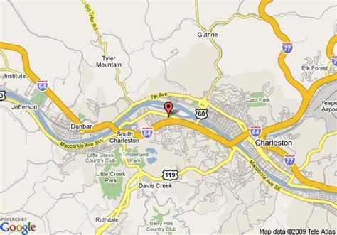 charleston wv map map of microtel inn charleston south charleston
