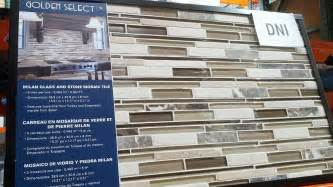 5 Foot Bathroom Vanity Golden Select Milan Glass Amp Stone Mosaic Wall Tiles 5 Pcs