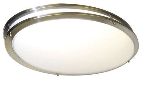 Oblong Ceiling Light by Nuvo 60 998 Oval Brushed Nickel To