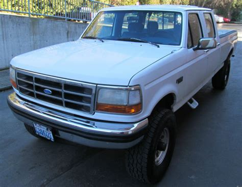how things work cars 1994 ford f350 security system 1994 ford f 350 xlt crew cab lifted 4x4 pickup 4 door 7 5l clean low miles 4wd for sale ford f