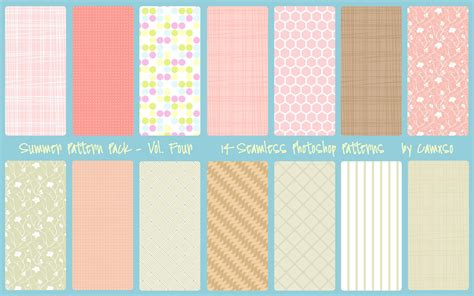 wood pattern photoshop deviantart summer pattern pack vol 4 by camxso on deviantart