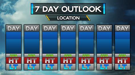 Forecast Templates Metgraphics Weather Graphics Weather Forecast Template