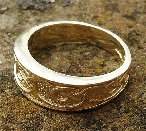 inexpensive wedding rings handmade celtic wedding rings