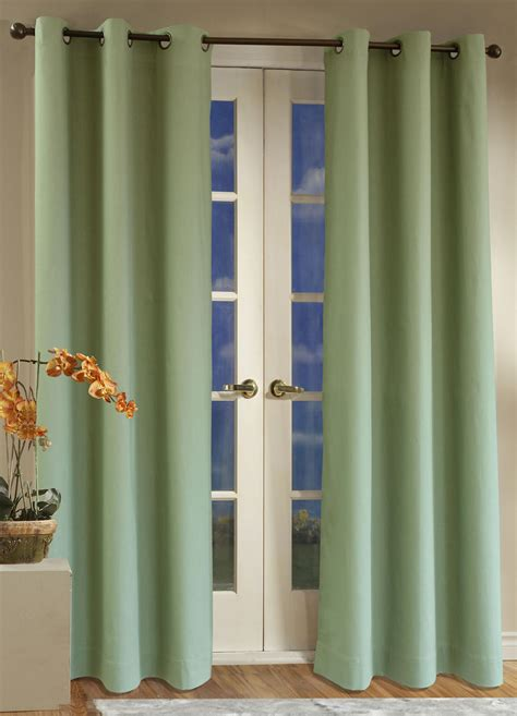 sage window curtains thermal curtains aurora home solid insulated thermal