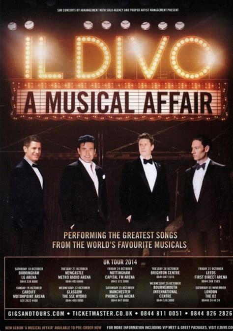 il divo uk gig review il divo welcome to uk reviews