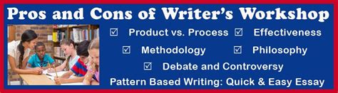 pattern based writing quick easy essay pros and cons of writer s workshop in elementary and