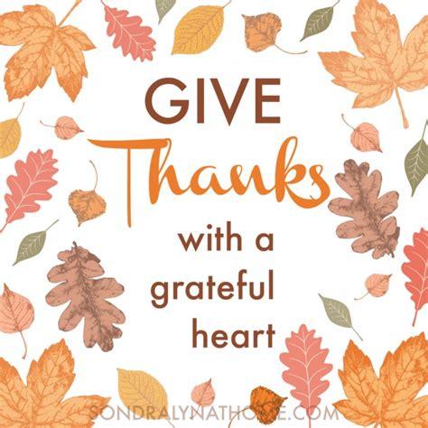 Top Decor Blogs give thanks thanksgiving printable sondra lyn at home