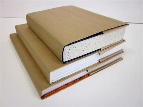 How To Make A Booklet Out Of Paper - 25 best ideas about paper bag book cover on