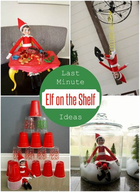 On The Shelf Last Ideas by Shelf Ideas Last Minute And Elves On