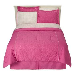 pink bed in a bag phi mu decor home eyelet pink bed in a bag