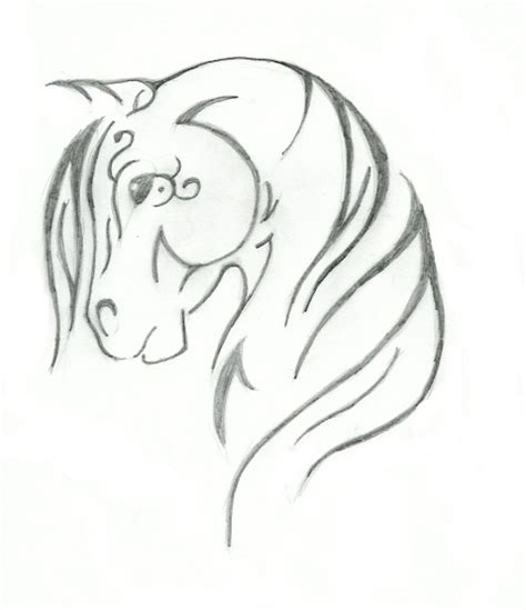 tribal horse head tattoo designs tribal design by saddlepatch on deviantart
