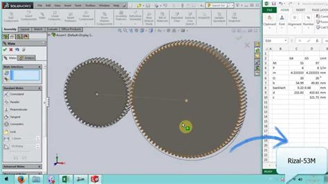 solidworks fea tutorial tutorial solidworks assembly gear pair direcly from