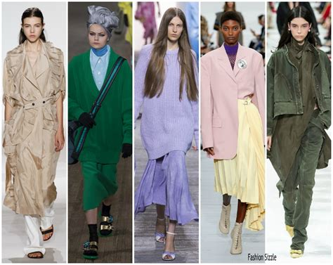 pintrest fashion trends spring spring 2018 runway fashion trend loose draped