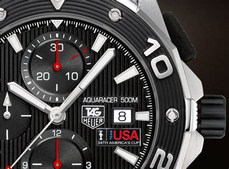 Tag Heuer Aquaracer Automatic 500 Oracle Team Usa Limited Cak211b Ba08 Zone Tag Heuer Aquaracer Team Usa Oracle
