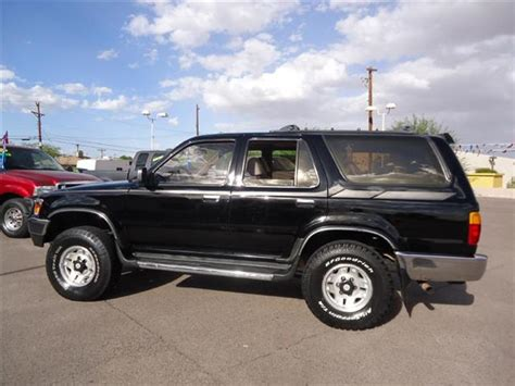1994 Toyota 4runner Gas Mileage Used 1994 Toyota 4runner For Sale Carsforsale