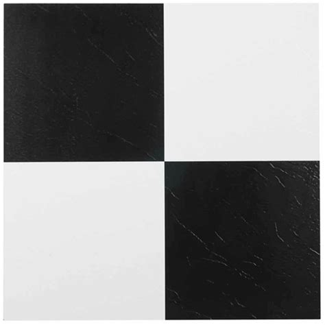 black and white checkerboard vinyl flooring home depot