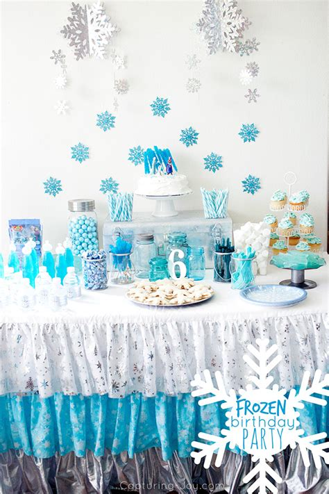frozen decorations ideas frozen birthday capturing with kristen duke