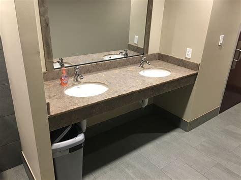 Just Countertops - look at the bathroom countertop for chisos grill we just