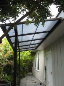Lexan Patio Cover by Small Patio Cover With Bearing Beam And Polycarbonate